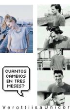 ¿Cuántos cambios en tres meses? (One Direction y tu) COMPLETA by spookyveronica