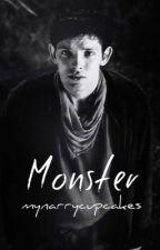 Monster ➳ Merthur by merlinflowers