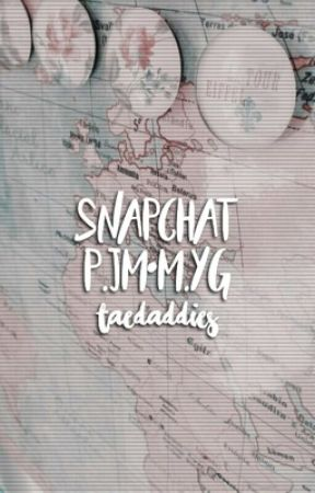 snapchat;; m.yg•p.jm by taedaddies