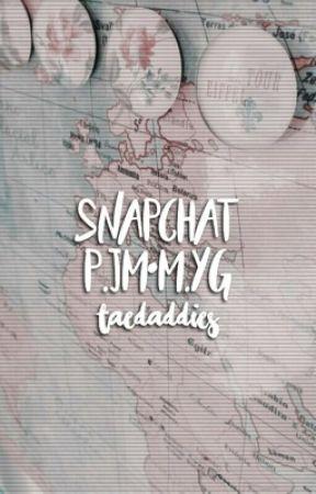 snapchat;; yoonmin by taedaddies