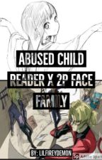Abused child reader X 2P! FACE family  by MissMidnightShadow