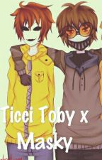 Ticci Toby x Masky by spicy_noodle_bois