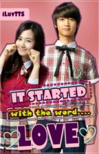It started with the word LOVE[MinYul Fanfiction] {COMPLETED!} from asianfanfic by zgstrlght