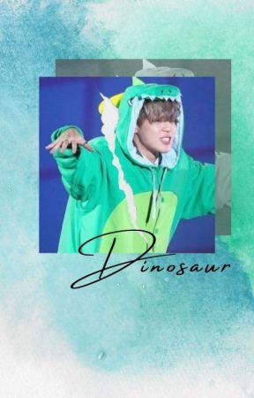 dinosaur 🐉 jikook by rosier_blue