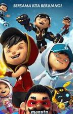 Boboiboy the superhero, the super brothers by Zenuex