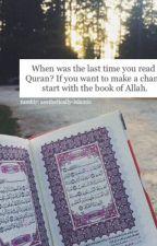 Kenapa sih harus menghafalkan qu'ran? by IsmahAtikah616