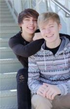 Waterslide- Solby ( Sam and Colby )  by iwritecrapstories123