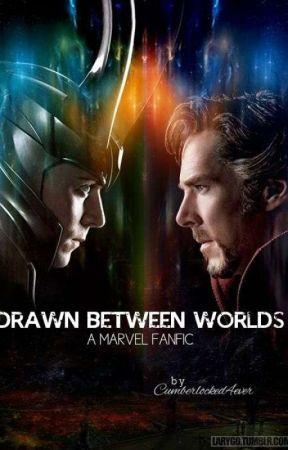 Drawn Between Worlds (Doctor Strange/Loki X Reader