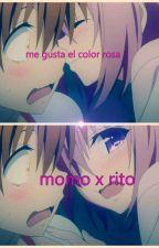 me gusta el color rosa ( momo x rito) by crazyvideogame