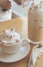 coffee ;  jin x reader by cherrytopper