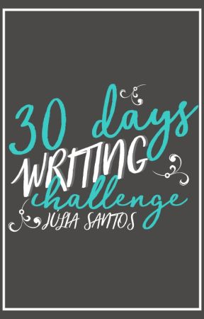 30 Days Writing Challenge by lietains