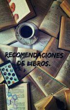 Recomendaciones de libros. by brookejavd8