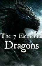The 7 Elemental Dragons by Leathology
