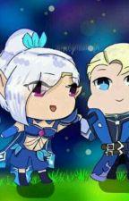 Mobile legend cinta antara Alucard dan seseorang Elf bernama Miya  by Dark_MiyaChan