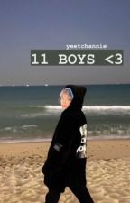 11 boys | wanna one ✔ by yeetchannie