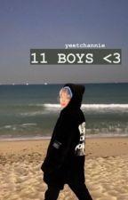 11 boys | wanna one ✔ by parkjigglypuff