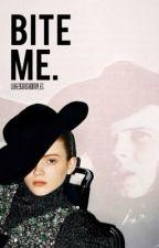Bite Me. // Carl Grimes by LukeysIrishDimples
