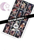 Fairy Tail Zodiac Signs by natidaaas