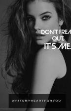 Don't freak out, it's me! (lesbian) by WriteMyHeartForYou