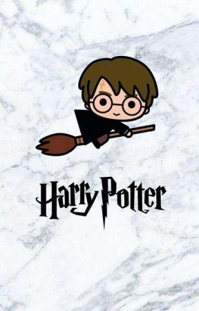 biblioteczka Harrego Pottera by marcelina_ka