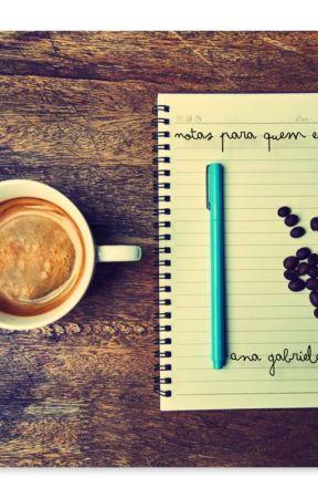 Notas para quem escreve by AnaGRebelo