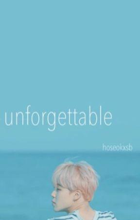 Unforgettable | pjm by hoseokxsb