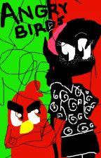 El Pajaro Cardenal y La Chica Humano (Angry Birds) by Sunnyborg