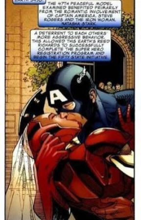 De otro Universo [ STONY ONESHOT - POST CIVIL WAR] by DorareaL