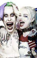 parents joker and Harley Quinn x child reader by beastgirl17