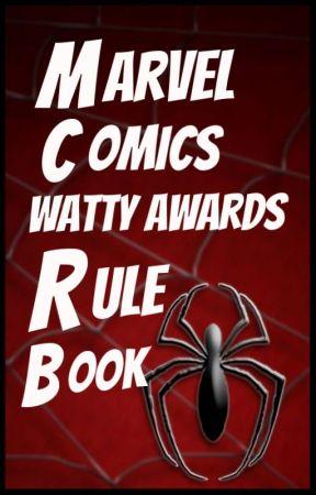 Marvel Comics Watty Awards Rule Book by MarvelComicsWA