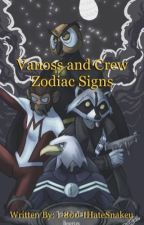 Vanoss and Crew Zodiac Signs by 1-800-IHateSnakeu