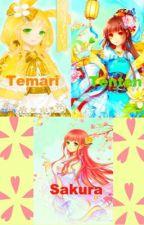 mischievous sadist sister Temari, Sakura, Tenten by MiraLOVESJun