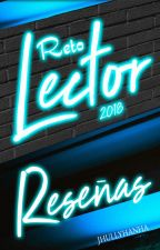 Reto Lector & Reseñas 2018 by Jhullyhanha