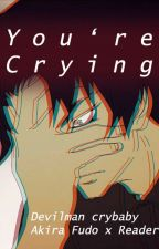 You're crying [ Akira Fudo x Reader ] [Devilman crybaby] Oneshot by hqhqhq333