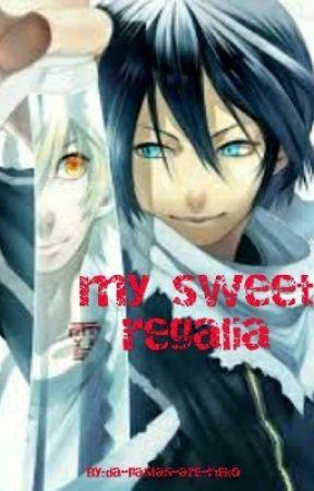 my sweet regalia ( C O M P L E T E D ) by Amaimood