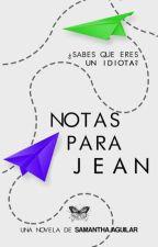 Notas para Jean by amlivh