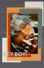 vkook | text | hey boy! by LiA_BTS