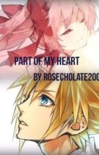 Part of my heart (Madoka x Sora) by rosechocolate2000