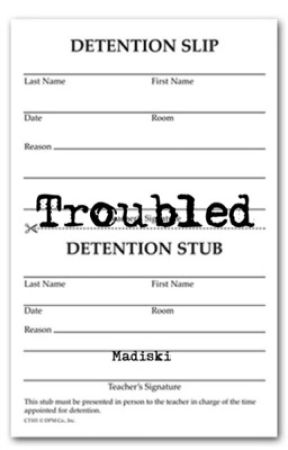 Troubled - Author's Note - Wattpad