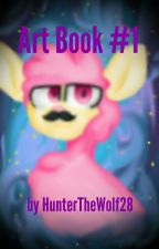 Book of art #1 by HunterTheWolf28