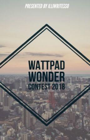 Wattpad Wonder Contest 2018 by illiwritesso