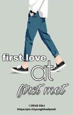 first love at first met by yusakmaleakhi