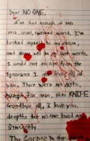 Suicide letters by mini_vampire