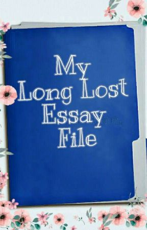 My Long Lost Essay File (Short Story Compilation) - A Little History