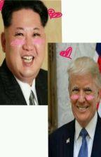 Kim Jong Un x Donald Trump by chels-ita