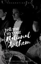tell me i'm your national anthem by timelordharry