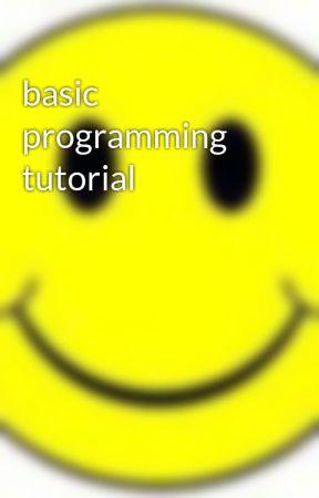 basic programming tutorial by jkrmnj