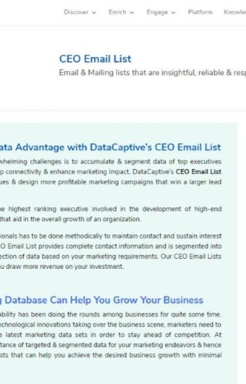 CEO email address list - jenniferlowis27 - Wattpad