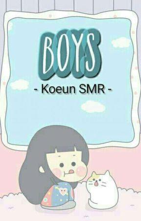 BOYS ;; smrookies Koeun by day202