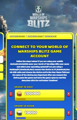 World of Warships Blitz Hack Cheat Online Generator Gold and